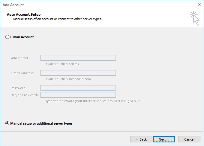 Setup your mail with Outlook PLESK - NETIM